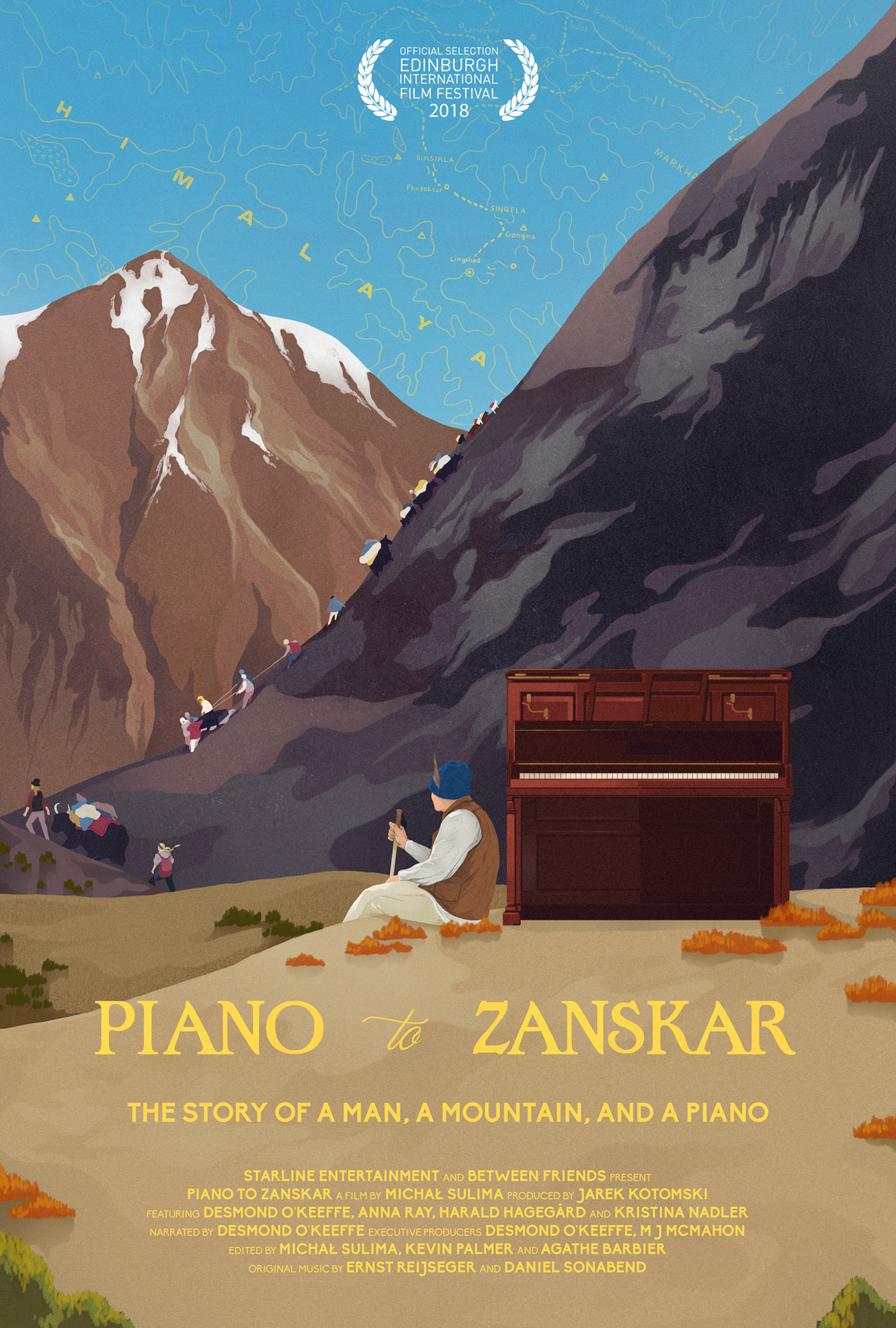 Between Friends Piano to Zanskar